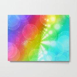 Rainbow Bright Metal Print