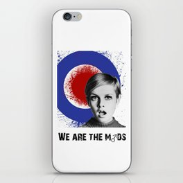 we are the mods iPhone Skin