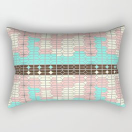 desert modernism Rectangular Pillow