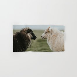 Sheeply in Love - Animal Photography from Iceland Hand & Bath Towel