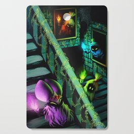 Zelda: Poe Sisters Cutting Board