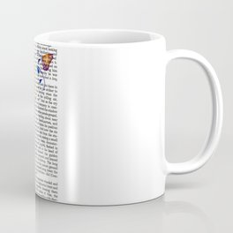 Nature's comeback graffiti Coffee Mug