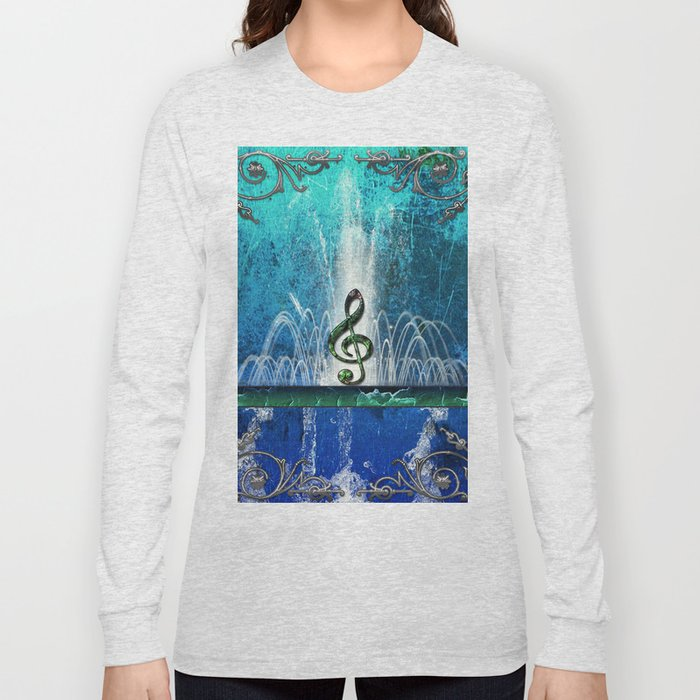 Music, clef Long Sleeve T-shirt
