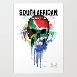 To The Core Collection: South Africa Art Print
