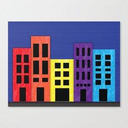 Brilliant Buildings Canvas Print