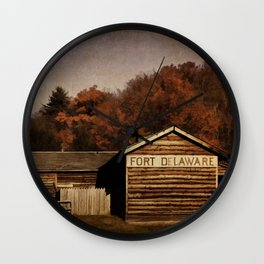 Fort Delaware Wall Clock