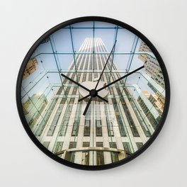 Big Apple in the Big Apple Wall Clock