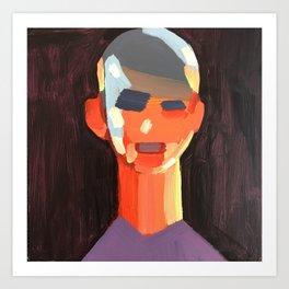 Distance Portrait III Art Print