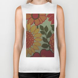 Sunflower love Biker Tank