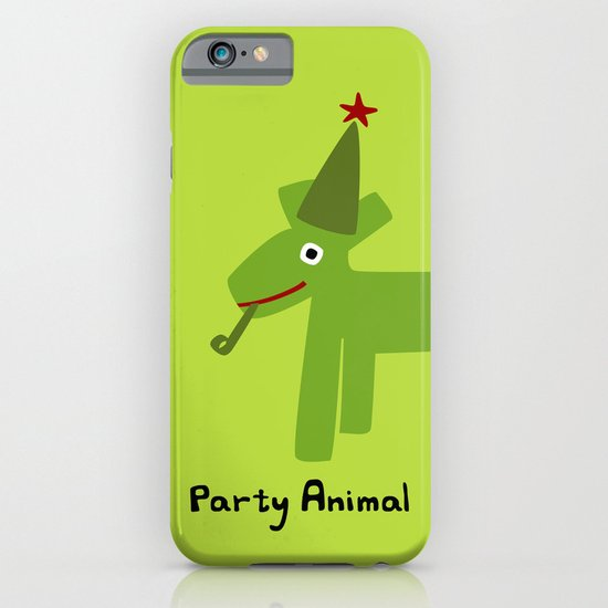 Party Animal-Green iPhone & iPod Case