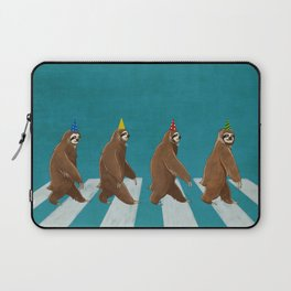 Sloth the Abbey Road Laptop Sleeve