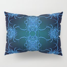 Tribal Crab Pattern Pillow Sham