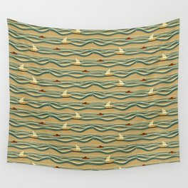 Sailing pattern 1d Wall Tapestry