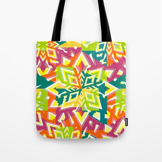 Floral pieces Tote Bag