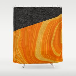 Tangello Shower Curtain