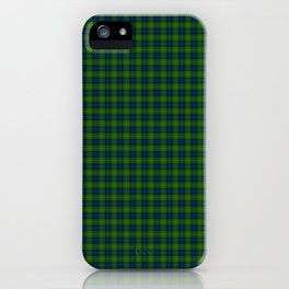 Muir Tartan iPhone Case