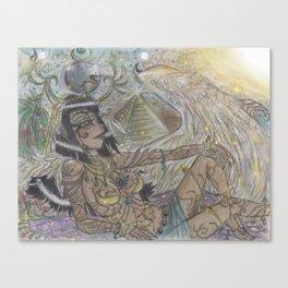 Goddess Isis Canvas Print