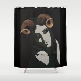 Dwindling Light Shower Curtain