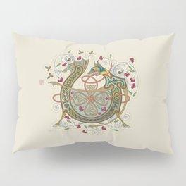 Celtic Initial V Pillow Sham