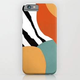 Abstract memphis iPhone Case