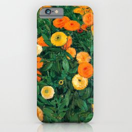 Marigolds by Koloman Moser, 1909 iPhone Case