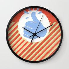 Thumbs Up! Wall Clock