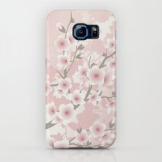 Vintage Floral Cherry Blossom Slim Case Galaxy S6