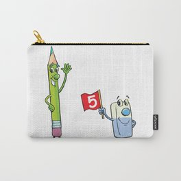 Eraser and pencil Carry-All Pouch