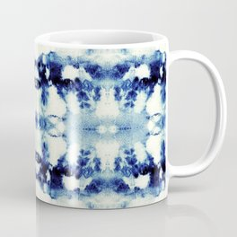 Tie Dye Blues Coffee Mug