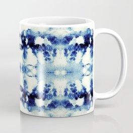 Tie Dye Blues Coffee Mug
