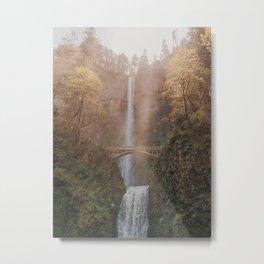 Multnomah Falls / Oregon Metal Print