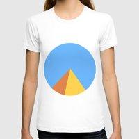 pyramid T-shirts featuring Pyramid by Nikkita