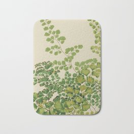 Maidenhair Ferns Bath Mat