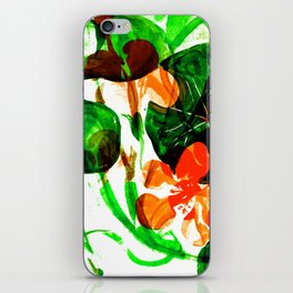 Indian Cress (vivid mix) iPhone Skin