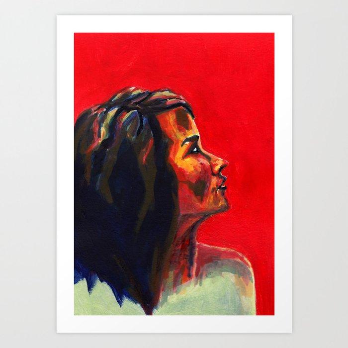 Nos étrangers 4 Art Print
