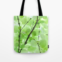 Under the Trees in a Summer Rainstorm  #decor #society6 #buyart Tote Bag