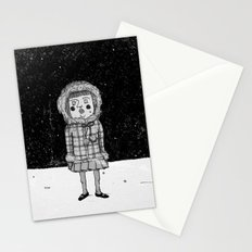 snowgirl Stationery Cards