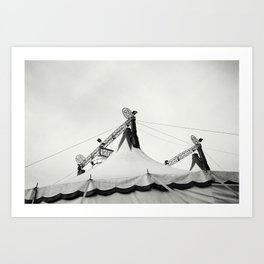 The Circus Art Print