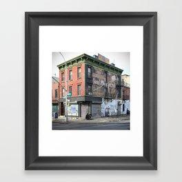 Lorimer Street Framed Art Print