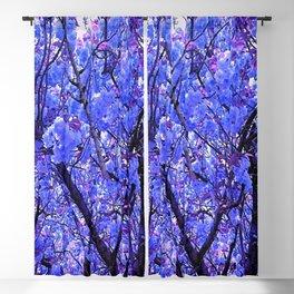 Dogwood Blue Tone Blackout Curtain