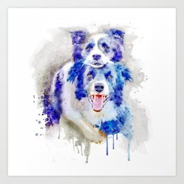 Best Buddies Art Print