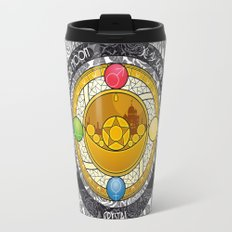 Sailor Moon - Crystal Transformation Brooch Travel Mug
