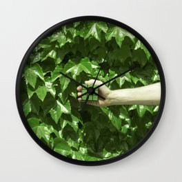 Green dreams Wall Clock