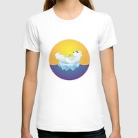 iceland T-shirts featuring Tropical Iceland by Otto Brittain