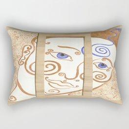 Contemplation of Ajna Rectangular Pillow