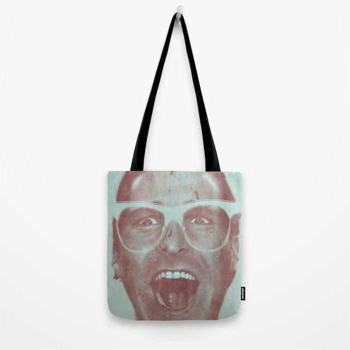 Patrick Bateman - The Hipster (Feat. Marta Macedo) Tote Bag