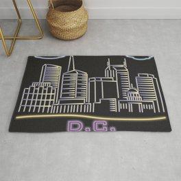 D.C. Neon City Rug