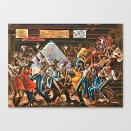 1970's African American 'Small's Paradise' Painting Canvas Print