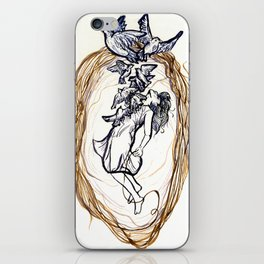 Coming Undone iPhone Skin