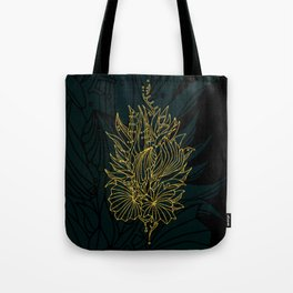Nested in Gold Tote Bag
